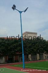 三江县7.6米灯光球场灯杆