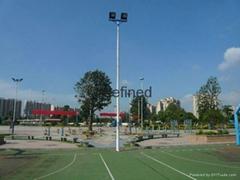 南宁户外篮球场灯杆