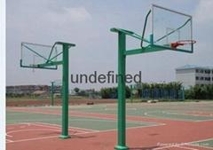 隆安县双向地埋式篮球架