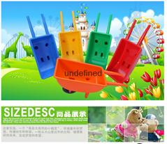 广西南宁幼儿园塑料独轮小推车加厚款