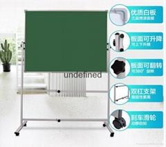 廣西白色移動支架式雙面磁性白板