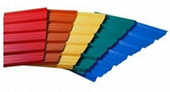 prepainted color steel roofing  tile with various ral
