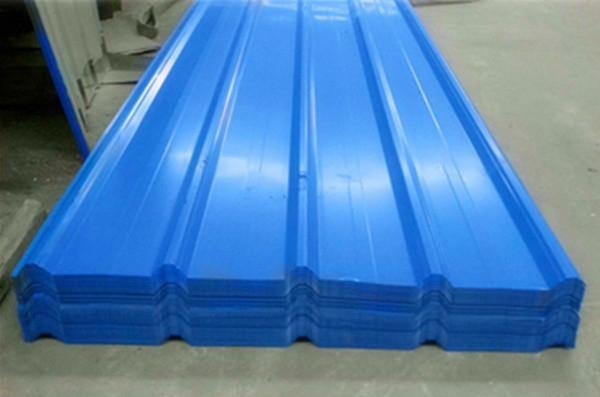 Building Roofing Tile color steel tile With Various RAL 1