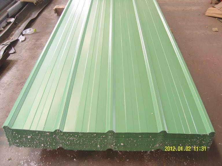 Building Roofing Tile color steel tile With Various RAL 3