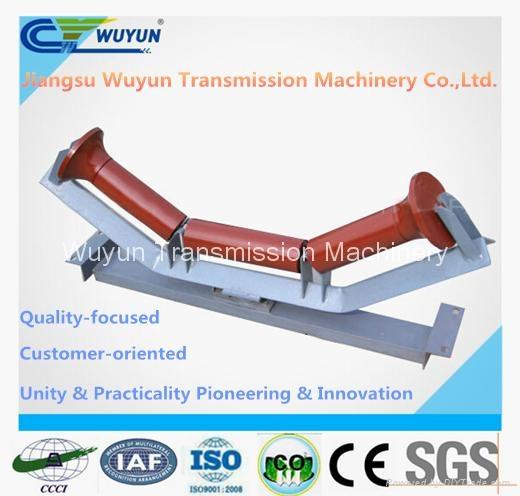 Upper Friction Self-Aligning Idler and Steel Belt Conveyor Roller