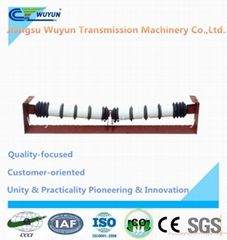 V-shaped comb idler roller for belt conveyor