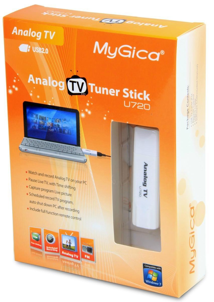 New MyGica U720 USB Analog TV FM Stick Tuner 1