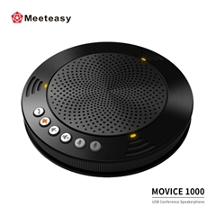Meeteasy MVOICE 1000 usb portable office laptop conference speakerphone