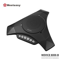 Meeteasy MVOICE 8000-B BT Conference Speakerphone for Web Based Conferencing