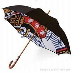 Double Canopy happy rain Umbrellas