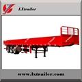 3 axle side wall cargo box semi trailers for hot sale 2