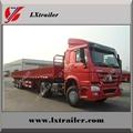 3 axle side wall cargo box semi trailers for hot sale 4