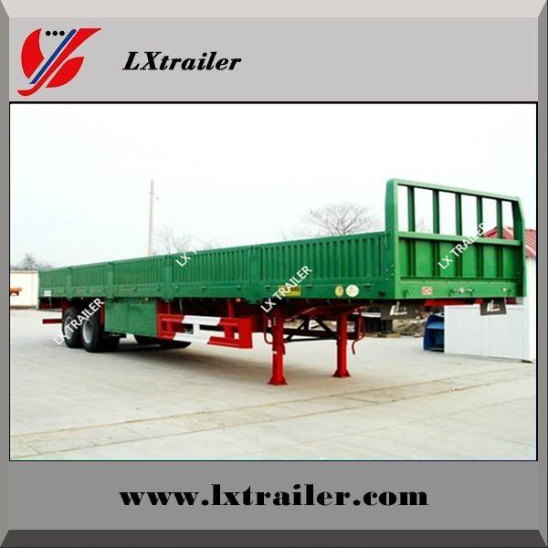 3 axle side wall cargo box semi trailers for hot sale 5
