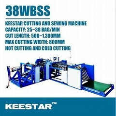 Keestar 38WBSS cement flour fertilizer bag making machine