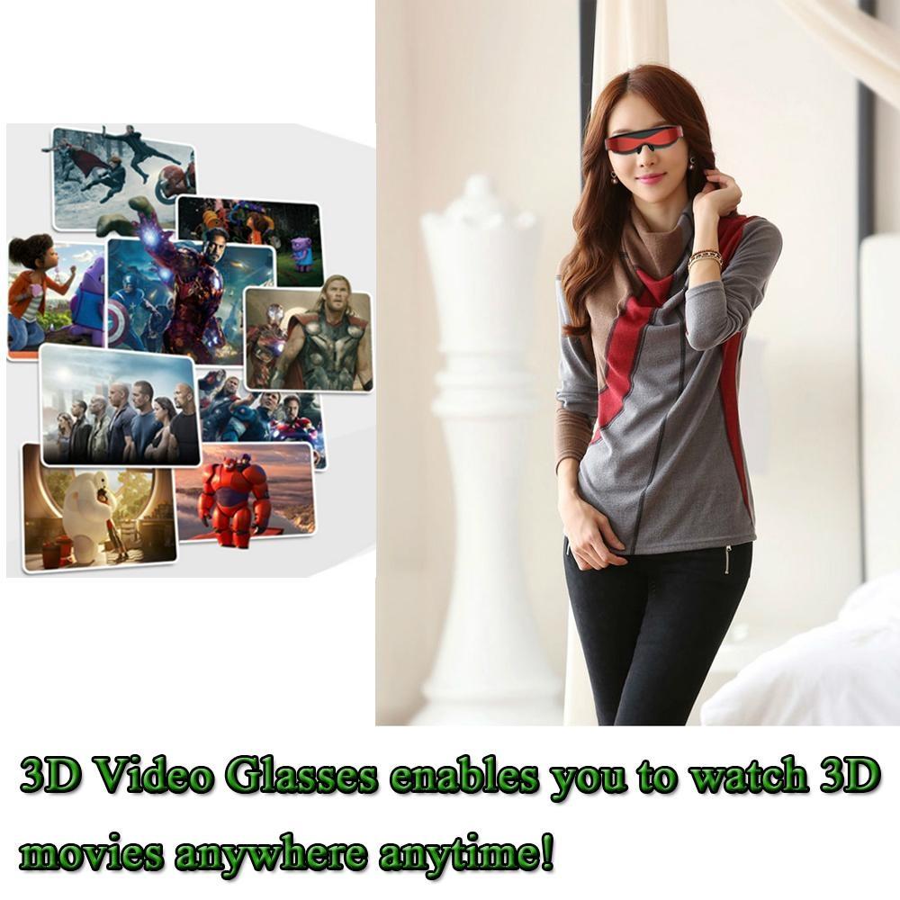 98英吋高清智能3D 視頻眼鏡 5