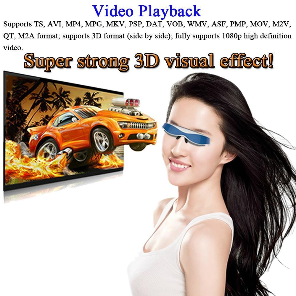 高清智能虛擬3D 視頻眼鏡 1