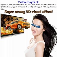 高清智能虛擬3D 視頻眼鏡