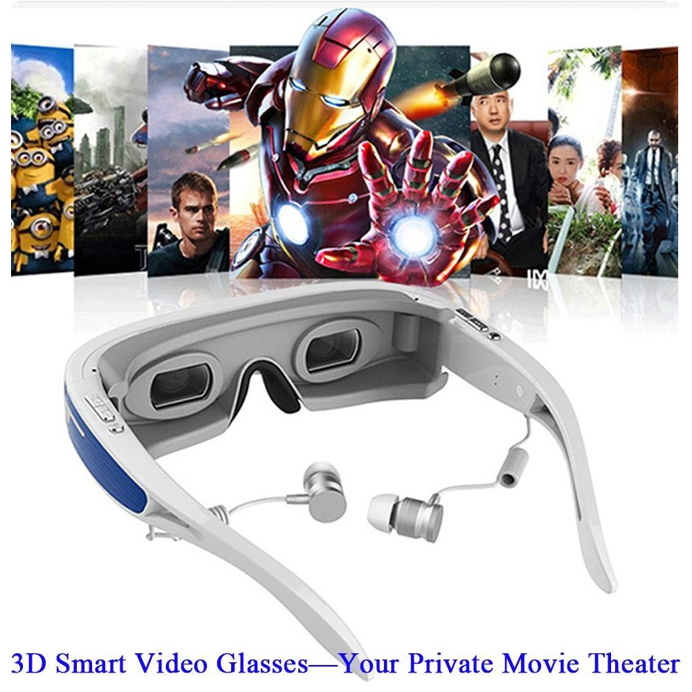 高清智能虛擬3D 視頻眼鏡 3