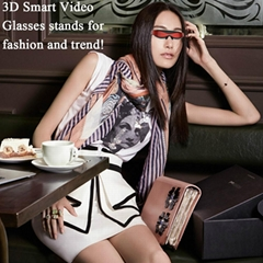 智能高清虛擬3D 視頻眼鏡