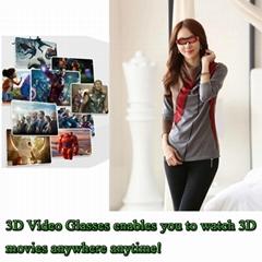 98英寸虚拟3D 视频眼镜
