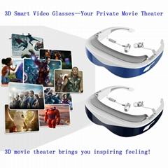 98英吋智能虛擬3D 視頻眼鏡