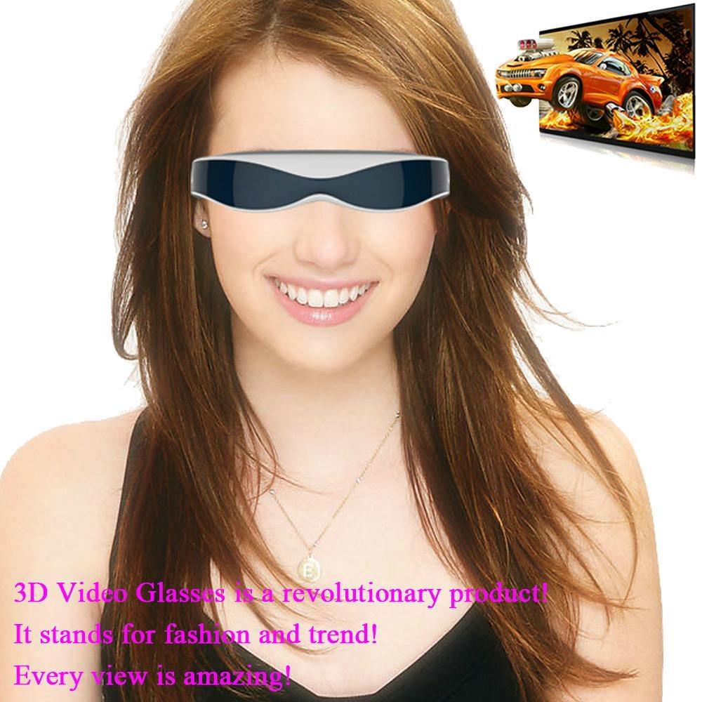 98英寸高清智能虚拟3D 视频眼镜 4