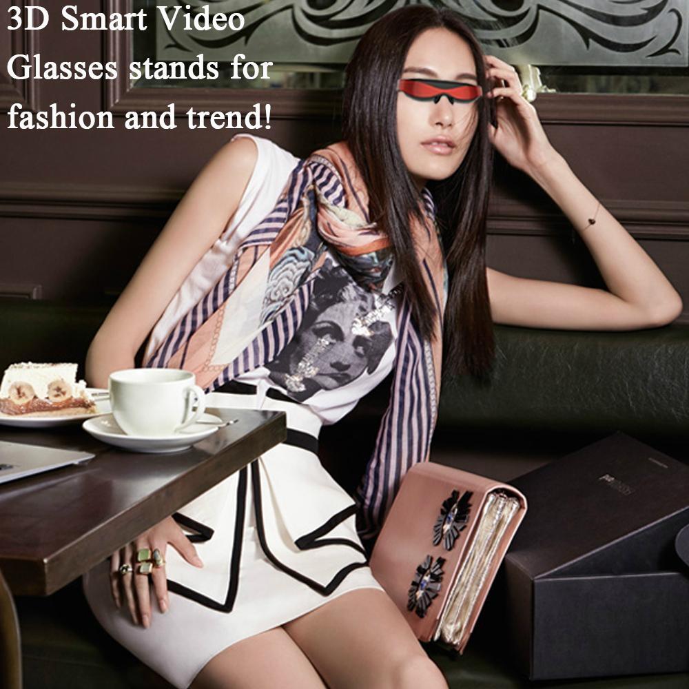 98英吋高清智能虛擬3D 視頻眼鏡 5
