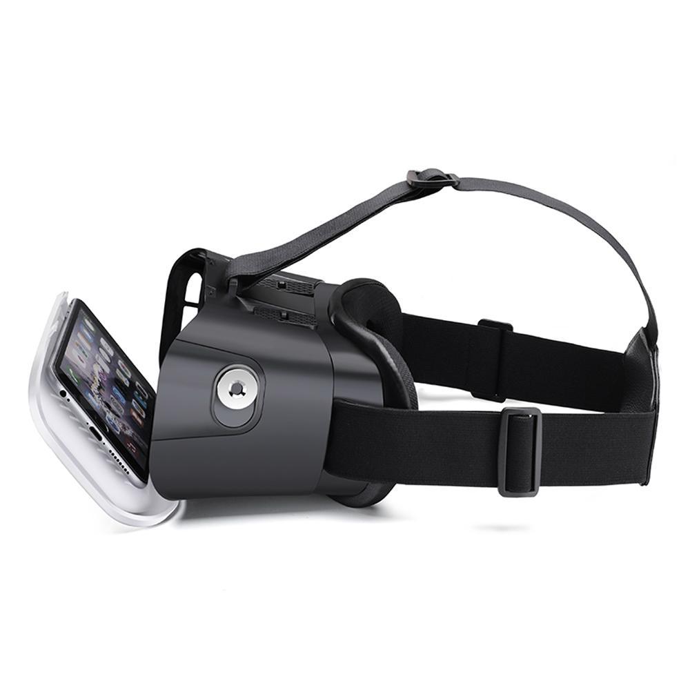 虚拟现实VR头戴式3D视频眼镜谷歌盒子塑料版本 3