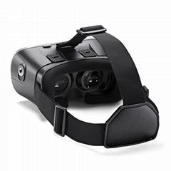 虚拟现实VR头戴式3D视频眼镜谷歌盒子塑料版本