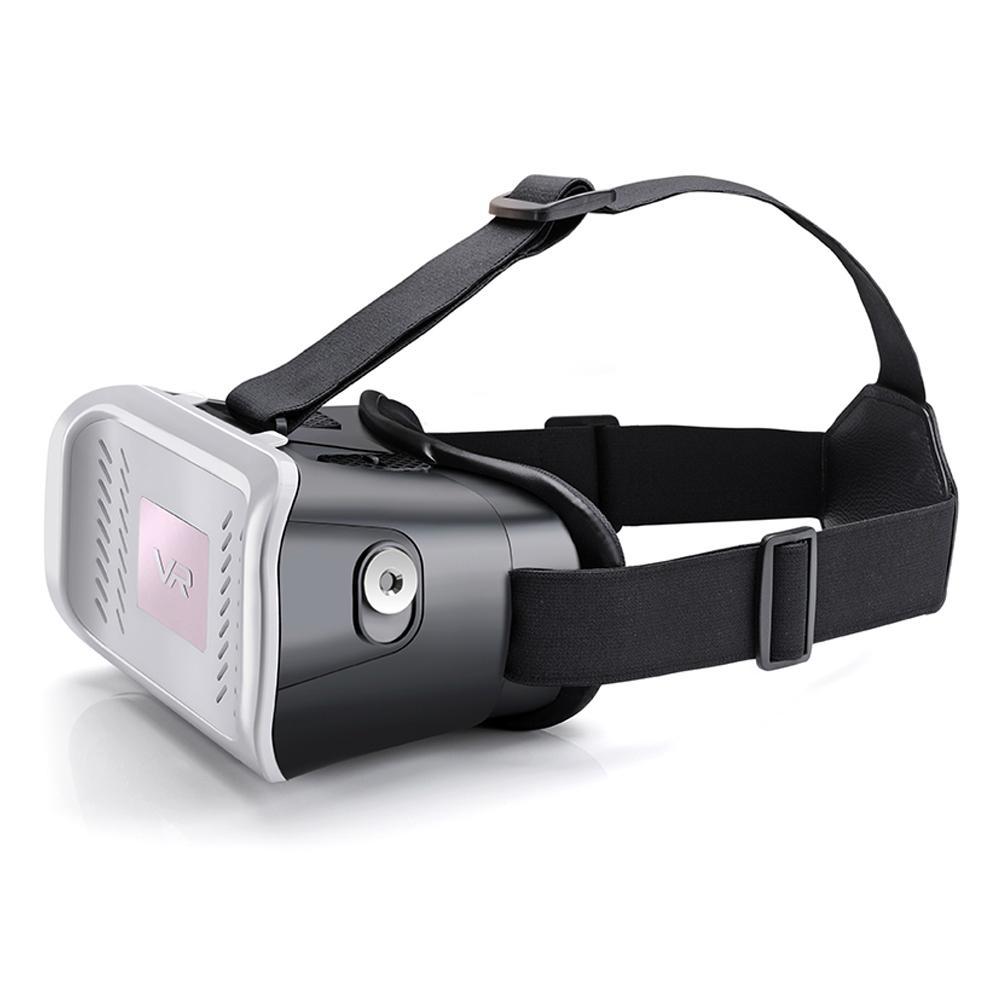 虛擬現實VR頭戴式3D視頻眼鏡谷歌盒子塑料版本 4