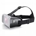 虚拟现实VR头戴式3D视频眼镜谷歌盒子塑料版本 4