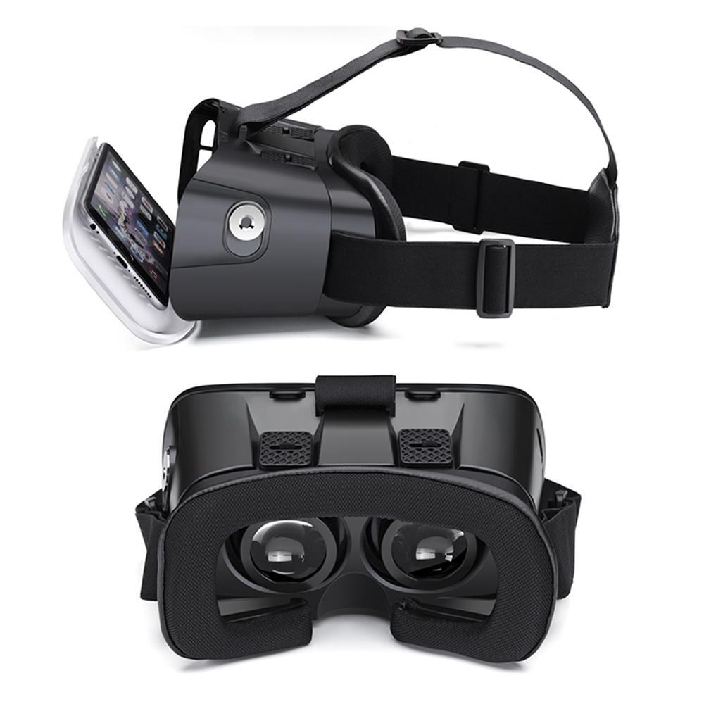 虛擬現實VR頭戴式3D視頻眼鏡谷歌盒子塑料版本 5