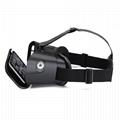 智能手机用塑料VR盒子虚拟现实头戴式3D视频眼镜 2