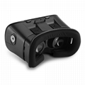 智能手機用塑料VR盒子虛擬現實頭戴式3D視頻眼鏡 3
