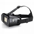 智能手機用塑料VR盒子虛擬現實頭戴式3D視頻眼鏡 5