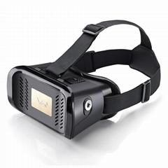 智能手机用塑料VR盒子虚拟现实头戴式3D视频眼镜