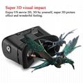 虚拟现实眼镜VR盒子3D眼镜头
