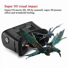虚拟现实眼镜VR盒子3D眼镜头戴式谷歌盒子