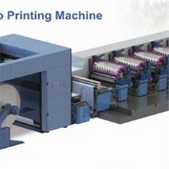 Wide Web Flexo Sleeve Printing Machine