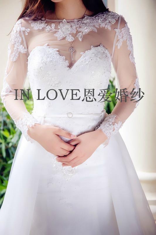 深圳恩愛婚紗定製婚紗禮服 2