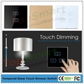 UK Standard Wifi Mobile APP Remote Control Light Dimmer Touch Panel Switches 2
