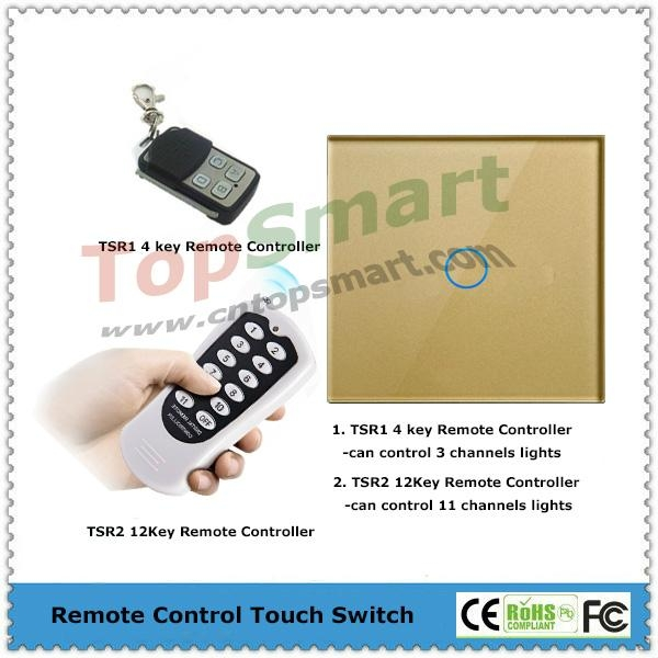 EU/UK Mobile APP  Remote Control Touch Panel Switch 2