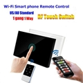 US/AU Standard Wifi Mobile APP Remote Control Touch Panel Light Switches 2