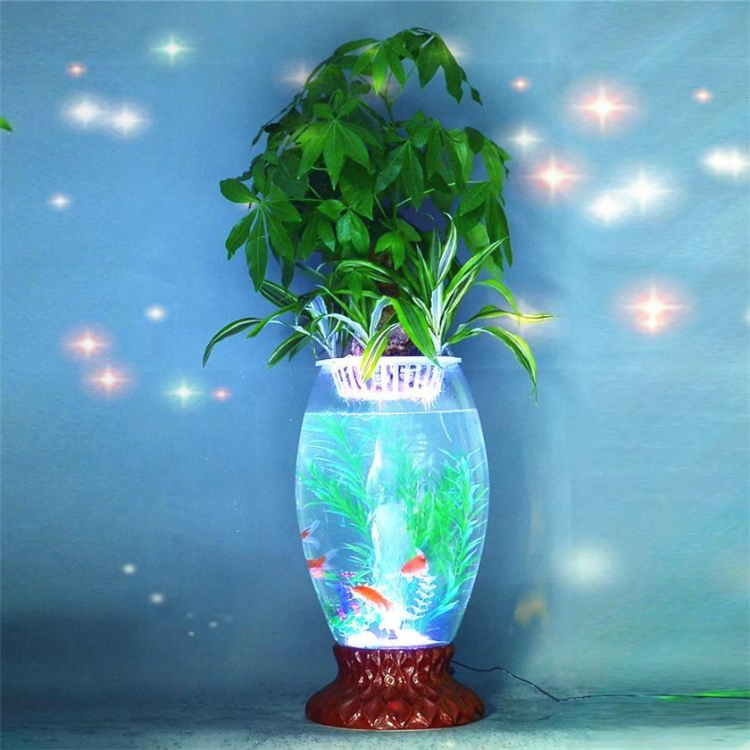 都市绿缘电子增氧水培花瓶玻璃花瓶鱼缸 2