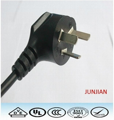 China CCC power cord with Plug ac power cord
