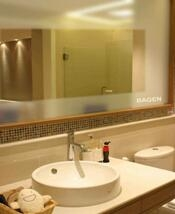mirror heater for large bathroom mirrors