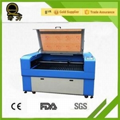 Knife Table Nonmetal Leather Wood Arcylic 6090 1610 Co2 Laser Cutting Machine