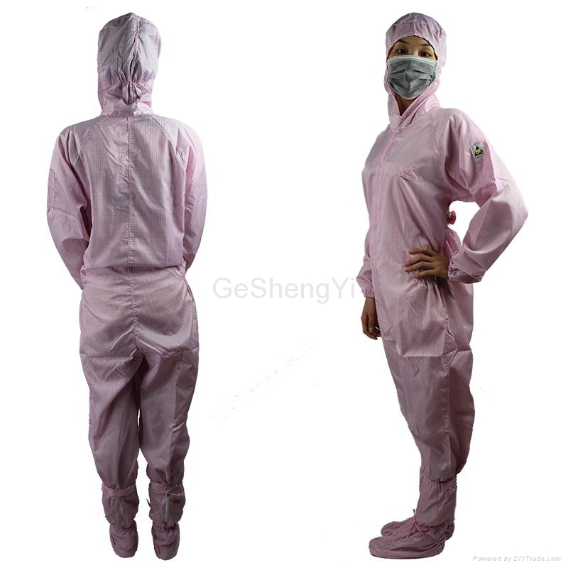 Hot Selling Women Customized LAB Anti Static Blue Coveralls 2