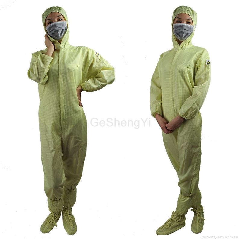 Hot Selling Women Customized LAB Anti Static Blue Coveralls 5