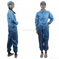 Hot Selling Man Women Protective Clean room Anti-Static Work Clothing Size XL 2